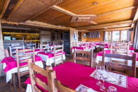 Hôtel le Tétras - Salle de restaurant