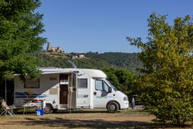Emplacement camping car
