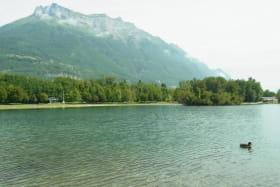 Plage du lac de Carouge