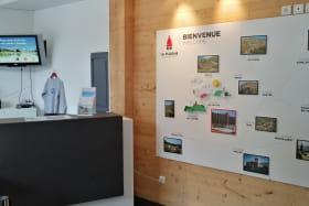 Fresque bureau d'information Plagne Bellecôte