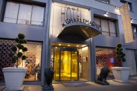 Hôtel Charlemagne Best Western Entrée
