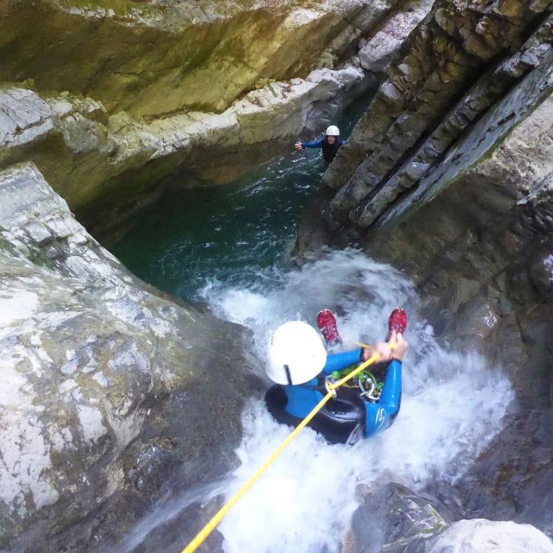 Toboggans canyon de Montmin
