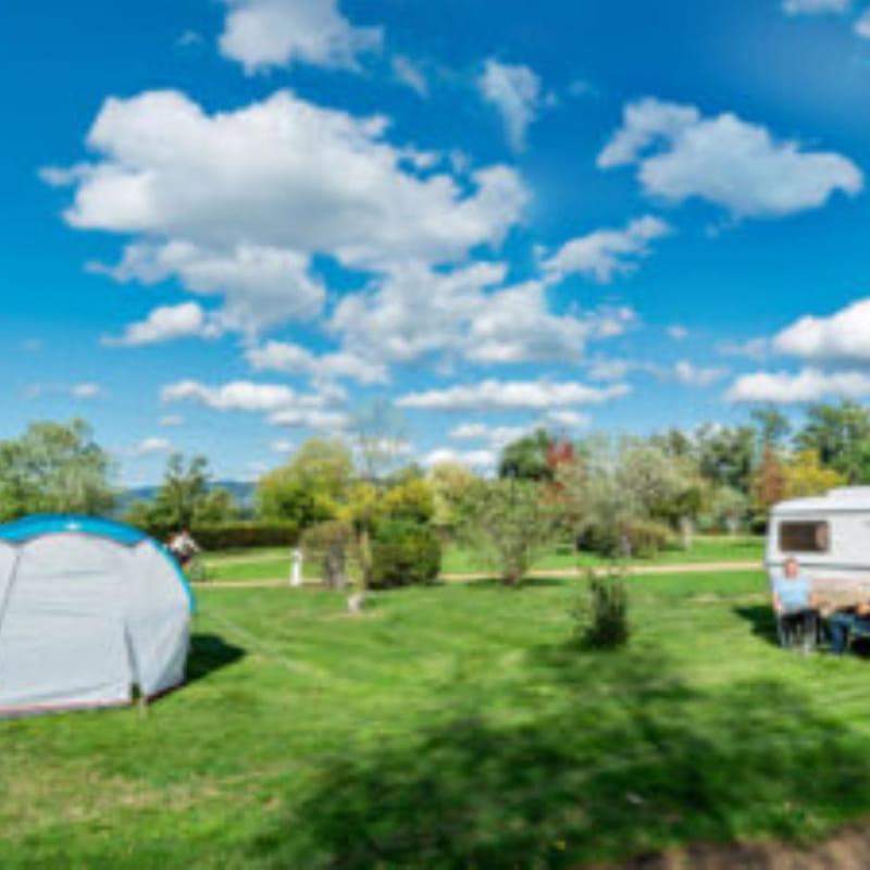Centre nature 'Quatre Vents', le camping