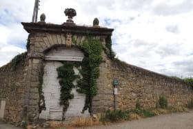Entrée Château de la Gallée (domaine privé)