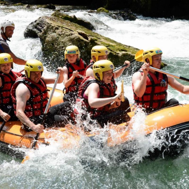 Descente rafting