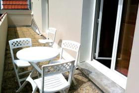 Location meublé Chalet Camillle appartement 24 balcon
