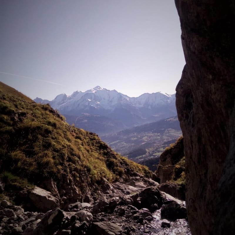 Canyon journée : la Pointe Percée