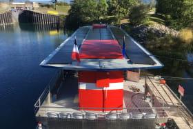 Un toit recouvert de panneaux solaires !