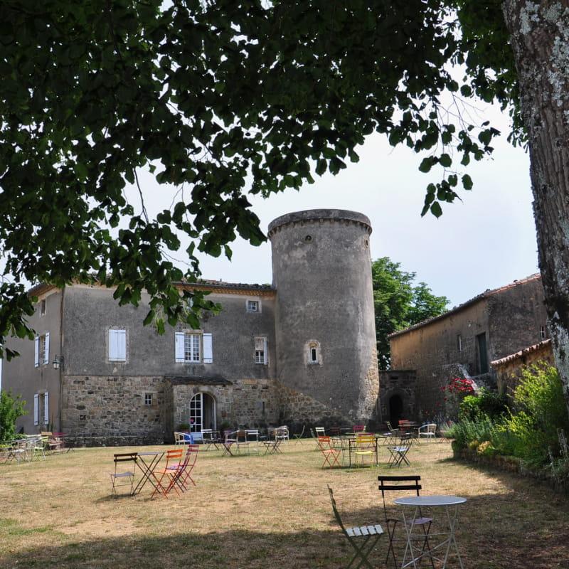 Gîte d'étape au Château de Liviers