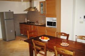 Cuisine de l'appartement n°2  de la Ferme de Oise