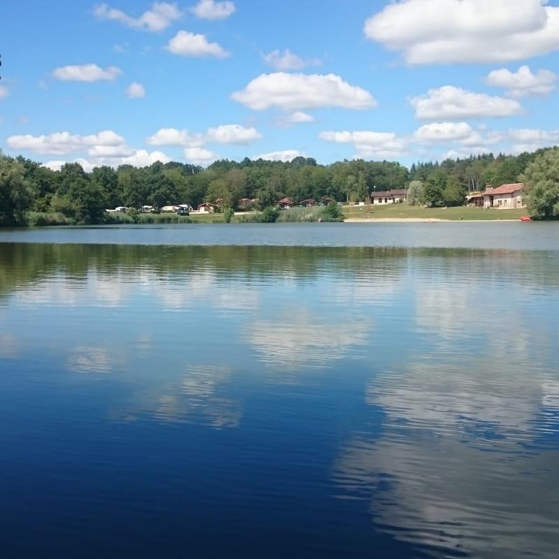 Le plan d'eau de pêche de la Grange du Pin