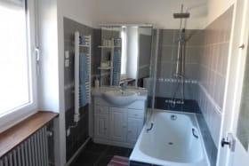 Salle de bain privative à la chambre Grenouille Verte.