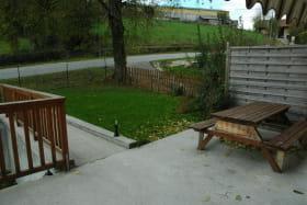 Un jardin privatif clôturé, idéal pour les enfants.