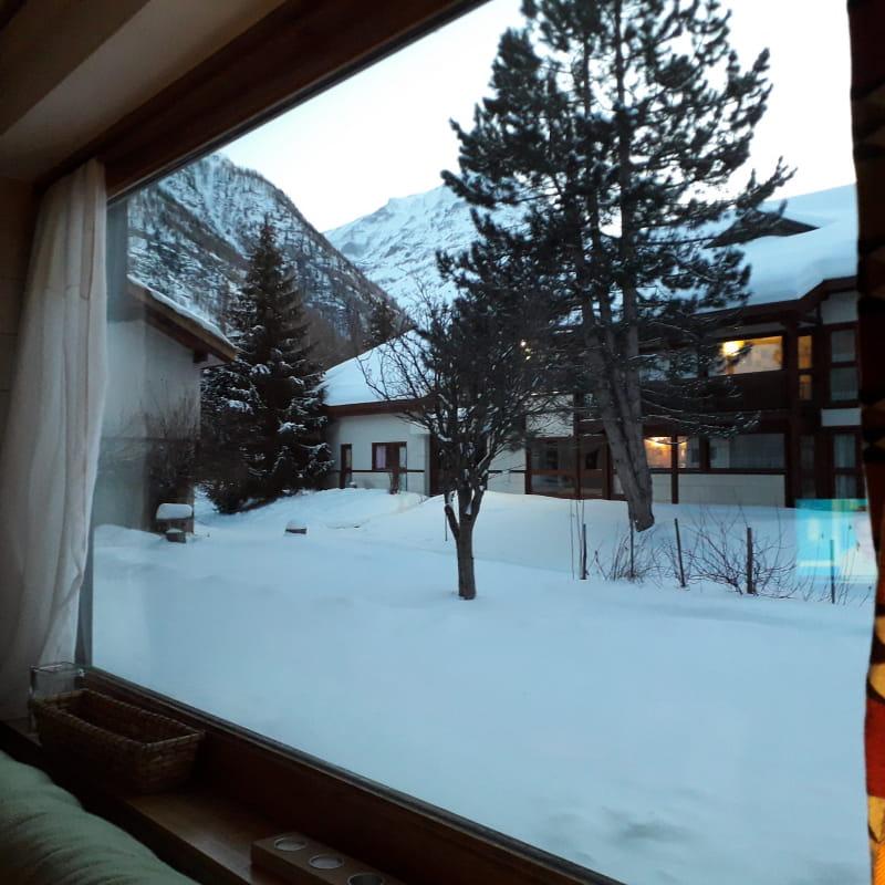 Au Hameau des neiges, à Bessans, charmant studio 4 personnes au pied des pistes