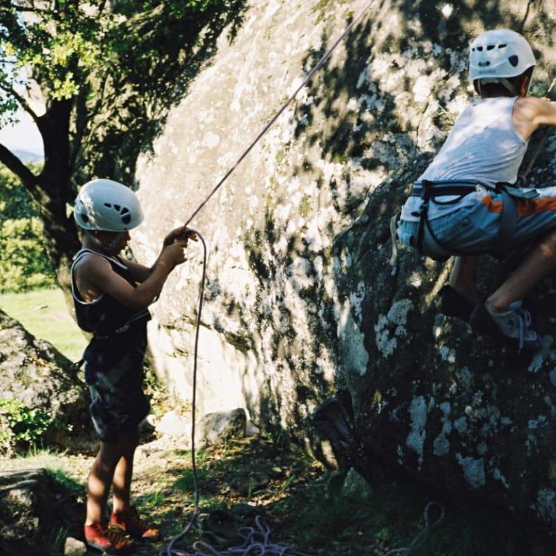 Activité encadrée Escalade - Ardèche Equilibre