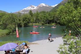 Activités aqualudique dela Maison des Guides aux lacs de Bessans
