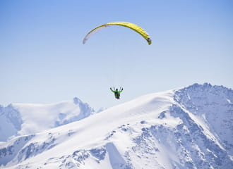 Paragliding from Les Arcs - Grand Vol