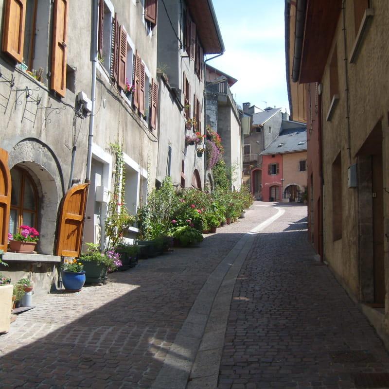 Vieille Ville de Montmélian - rue de la Chaîne