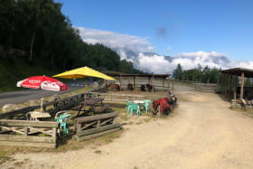 Balade à cheval - Centre Equestre des 2 Alpes  Prej' Alpes