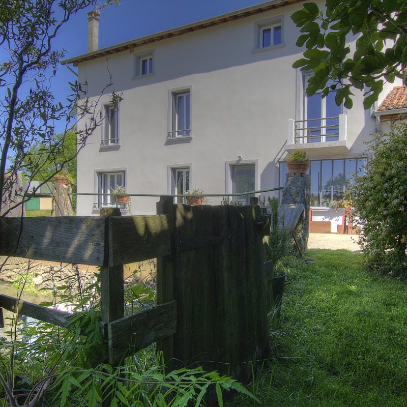 Le Moulin de Riottier Côté Moulin
