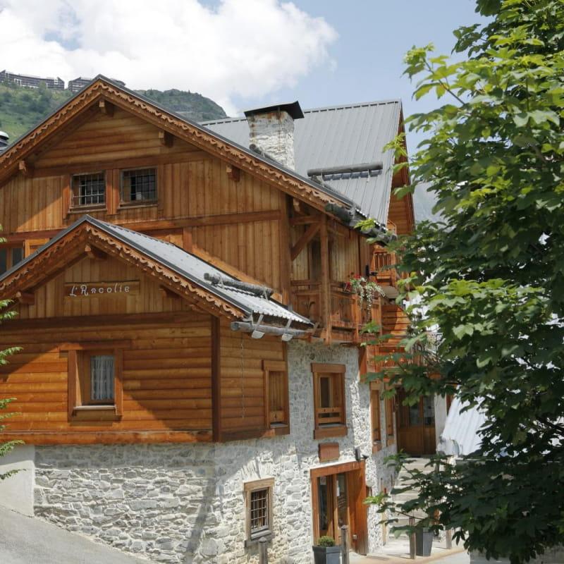 Maison de village L'Ancolie l'été