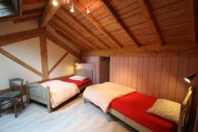 Chambre 2 avec deux lits 90.