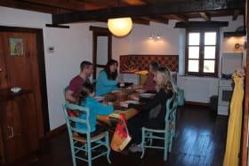 Gîte Chez Marie - Coin repas