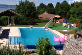 Le Bois Ramé - piscine