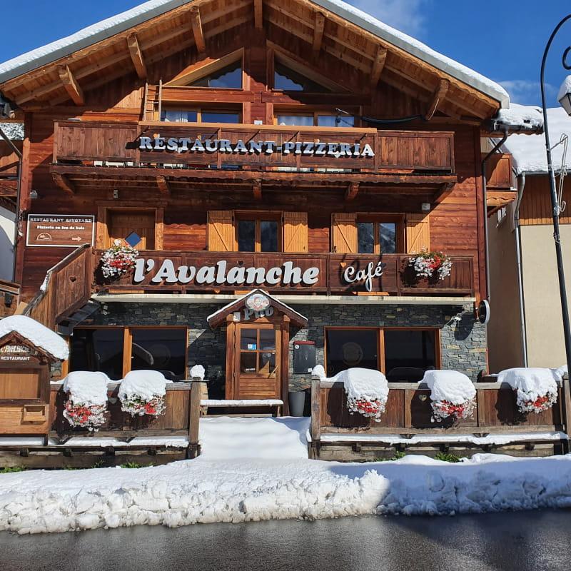 Restaurant Avalanche & co hiver
