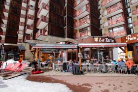 Terrasse restaurant la Tarine