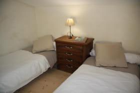 2ème chambre sur mezzanine, 2 lits 90