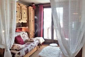 Le Nid d'aigle (n°317), le salon sur balcon