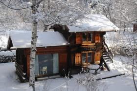 Mazot les Tines en hiver