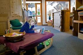Espace enfants bureau d'accueil de Montriond