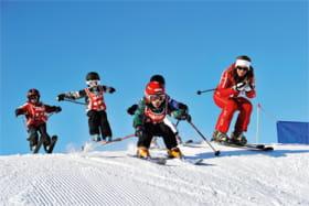 Cours collectifs alpin  enfants esf Corrençon