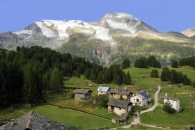 Le Monal et Le Mont Pourri