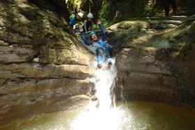 La descente du canyon de Chaley avec Rev'asion