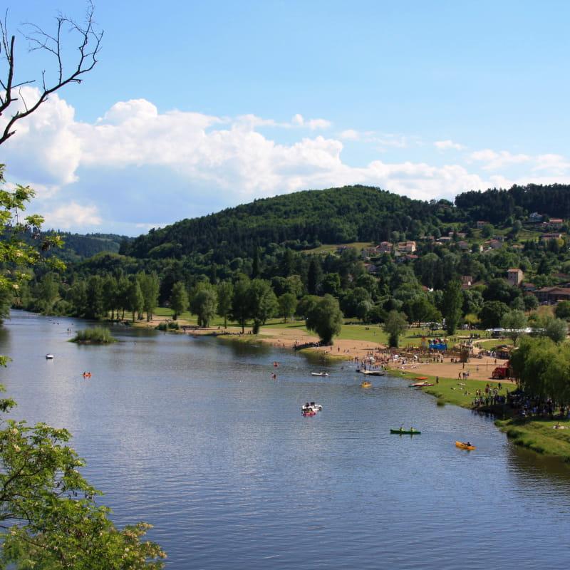 Aire respirando des Gorges de la Loire