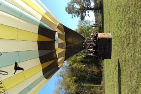 Vol en montgolfière avec Dombes Montgolfières