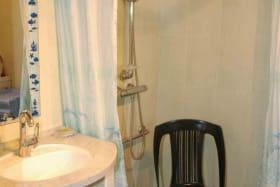 douche à l'italienne accessible personne mobilité réduite.