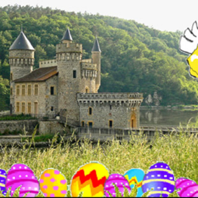 Pâques au Château de la Roche