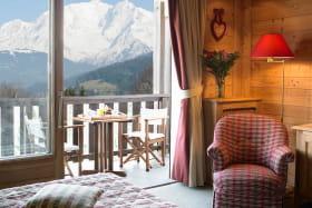 Chambre Hotel 4* Aux Ducs de Savoie à Combloux