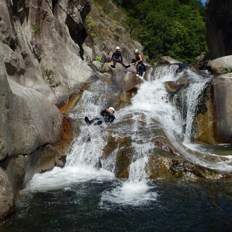 Canyoning - La Haute Ardèche avec le BMAM