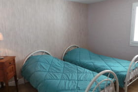 Chambre n°3 avec 2 lits simples
