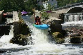Canoë/kayak sur l'Eyrieux