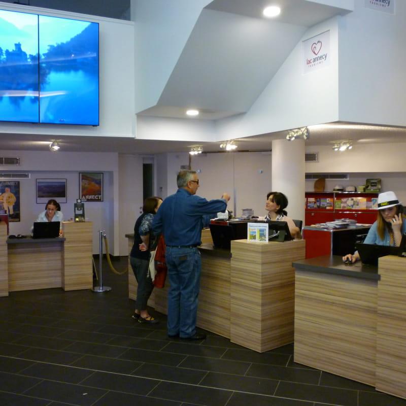 Bureau d'accueil d'Annecy