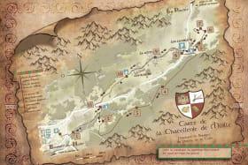 Carte Marais du Gelon