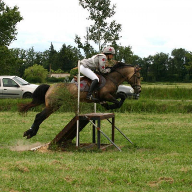 Cours d'équitation avec les Poneys de Chastellus
