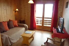 Salon avec lits gigognes (2x90cm)