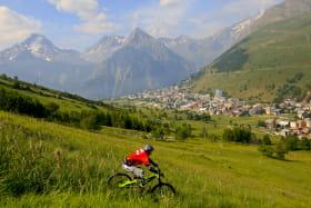 La station des 2 Alpes en été